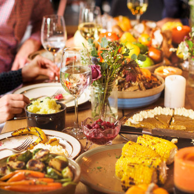 Gedeckter Tisch - Restaurant Schönbeck